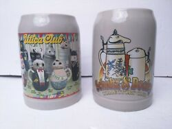 Limited Edition Character Mug And Collectors Schult Webco Utica Club Germany Stein