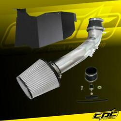 For 16-20 Honda Civic 2.0l Non-turbo Polish Cold Air Intake + Stainless Filter