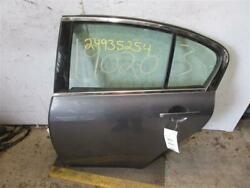 REAR DOOR G35 G25 G37 2007 07 2008 08 2009 09 10 11 - 13 Sedan Left Gray 981992