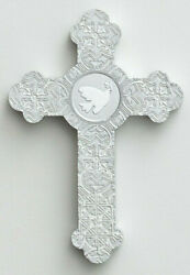 White Dove on Silver Christian Wall Cross For All Occasions by DaySpring Cards $10.97