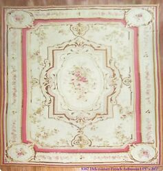 Antique French Aubusson 18th Century Size 13'5''x20'7''