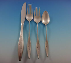 Star By Reed And Barton Sterling Silver Flatware Set Service 50 Pieces John Prip