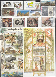 Czechoslovakia Mnh Complete Year Set 2016 33 Stamps+ 3 S/s+ 8 M/s + 4 Booklets