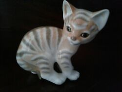 Ceramic Cat Collectible Made In Ussr