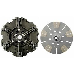 Clutch Kit John Deere 6115d, 6125d Tractor Dual Stage, 6 Lever Clutch Assembly