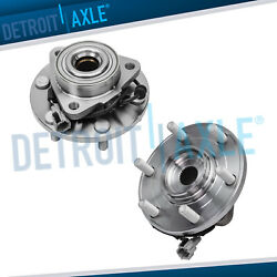 For 2011 2012 - 2015 Infiniti Qx56 Qx80 2pc Front Wheel Bearing And Hub Assembly