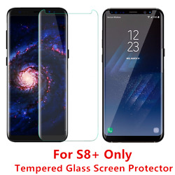 50 Pcs Samsung Galaxy S8 Plus Tempered Glass Screen Protector Anti-scratch Clear