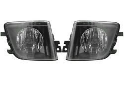 Pair Set Of Left And Right Genuine Fog Lights Lamp For Bmw F01 F02 F03 F4 7-series