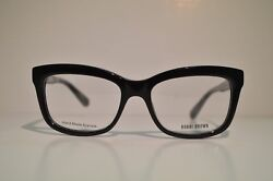 New Authentic Women's Bobbi Brown Tara Eyeglasses: 807 Black $89.99