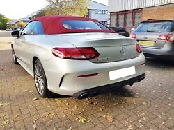 Amg C63 Coupe Diffuser Night Package And Black Tailpipes Not Complete Bumper