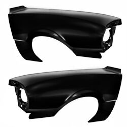 19701977 Maverick Fender Wo/side Lamp Hole Pair Right And Left Side Edp Steel Dii