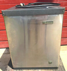 Scotsman Cme3 Air Cooled Cuber Ice Machine -for Parts But Powers On- Watch Video