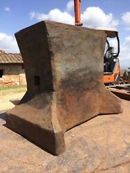 346 Lbs Old Forged Saw Maker Blacksmith Anvil