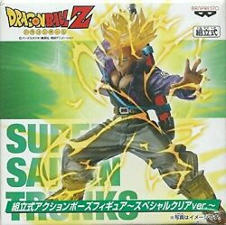 Dragon Ball Z Prefabricated Action Poses Figures - Special Clear Ver. Super Sa