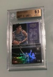 2017 Gala Justin Jackson 182 Rc Rare 2/8 Ssp Rookie Only 8 No Parallels Bgs 9.5