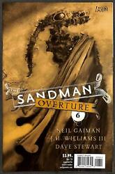 The Sandman Overture 6 1200 Variant Cover By Dave Mckean