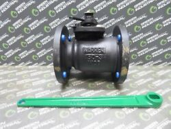 New 3 Warren 5155fs Ball Valve With Handle 285 Psig At 100°f Class 150