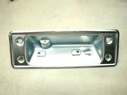 67 68 69 70 71 Ford F100 F250 Truck Tailgate Handle Mounting Plate W/ Screws