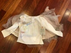 Pottery Barn Kids Unicorn Tutu Costume 4-6 NEW Halloween 3 Pieces