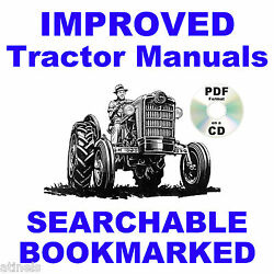 Ford 600 800 Tractor Service And Parts Catalog And Owners Manual 1953-64 Manuals Cd