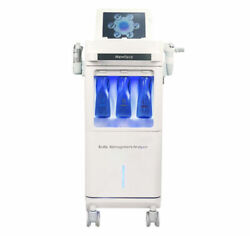 New 6 In 1 Hydra Super Bubble Water Dermabrasion Oxygen Therapy Spa Machine