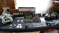 Chaos Death Guard Army Wh 40k Forge World + Gw Heroes 3 Japan Exclusive Set Oop