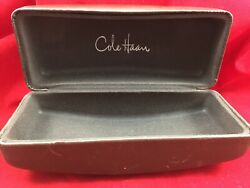 COLE HAAN DESIGNER SUNGLASSES BROWN LARGE CASE NICE CONDITION  (case only)