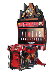 Aliens Armageddon Deluxe Edition Arcade Game by Raw Thrills , Clean!