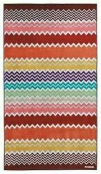 MISSONI Home Rufus Terry Beach Towel $220 Zigzag Chevron Rachel Zoe