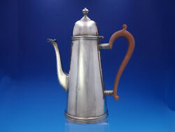 English Sterling S. J. Shrubsole Sterling Silver Coffee Pot 31.48 Ozt 3631