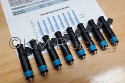 8x Siemens Deka 80lb 850cc Fuel Injectors 110324 Fi114992 Flow Tested And Cleaned