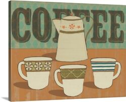 Coffee And Tea Collection A Canvas Art Print