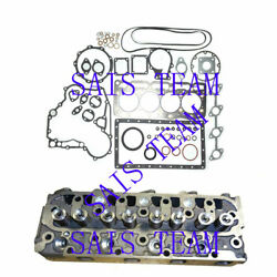 V1505 Complete Cylinder Head And Gasket Set Fits B2910hsd B7820hsd B3030 Tractor