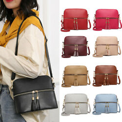 Women Handbag Leather Satchel Shoulder Bag Tote Ladies Messenger Crossbody Purse