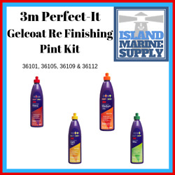 3m Perfect - It Gelcoat Re Finishing Pint Kit 36101, 36105, 36109 And 36112