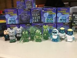 Disney Vinylmation Haunted Mansion Series 1 Lot Of 10 Figures 2 Are Dupes