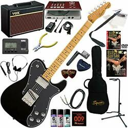 Squier electric guitar beginner introduction Telecaster custom equipped with hum