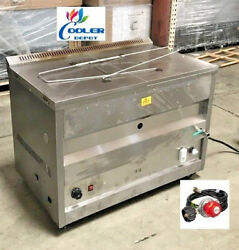 New 60l Propane Deep Fryer W/ Thermostat Or Natural Gas