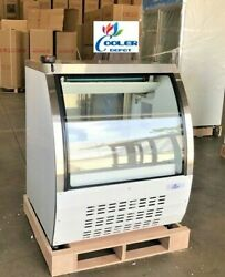 New 36 Commercial Deli Refrigerator Cooler Case Display Bakery Pastry Dc92 Nsf