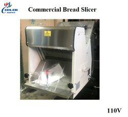 New Commercial Bread Slicer Cuts 1/2 Slices Loaf Heavy Duty Electric 110v