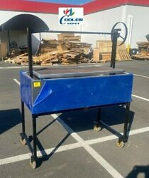 48 Outdoor Bbq Charcoal Argentine Gril Oven Roaster Lamb Chicken Beef Fish Ob48