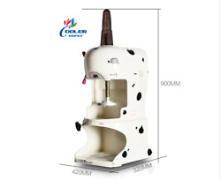New Commercial Ice Shaver Machine Shaved Ice Cube Snow Coneandnbspmodel Si1