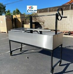 72 Outdoor Bbq Charcoal Argentine Grill Oven Lamb Chicken Beef Fish Ob72