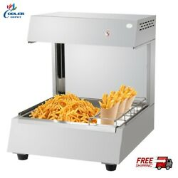 New French Fry Chips Warmer Station Seasoning Fries Fried Food Counter Top