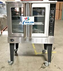 New Coolerdepot Commercial Single Deck Gas Baking Convection Oven W/ Legs