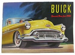 Automotive Promotional Brochure / Buick Smart Buy For 1951 First Edition