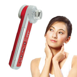 4in1 Photon Ultrasonic LED Electric Facial Physical Massage Skin Moisture Tool