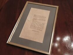 Rare Military Appointment Signed By King George Iii And Prime Minister Of England
