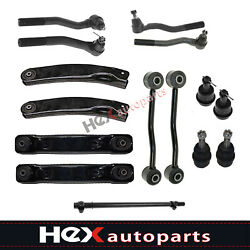 15pc Lower Control Arm Tierod  Ball Joint Sway Bar Link for 99-04 Grand Cherokee