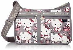 Hello Kitty Lesportsac Deluxe Everyday Bag Hello Kitty 45th Shoulder Bag 7507